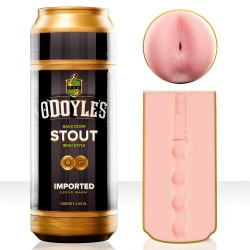 FLESHLIGHT SEX IN A CAN Jack O'DOYLE'S STOUT Anus masturbator