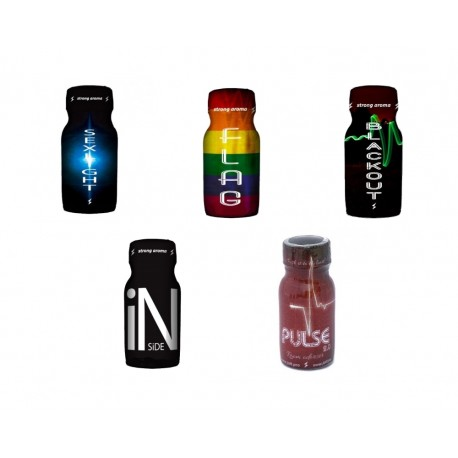 PACK 5 FRENCH POPPERS AROMAS
