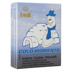 Cold Moments condoms x 3