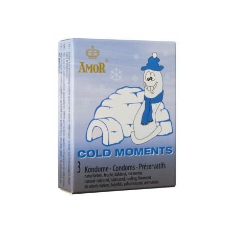 Cold Moments condoms x 3