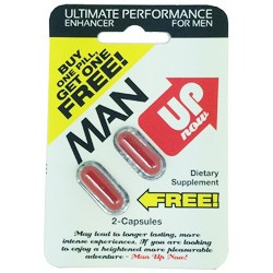 MAN UP NOW - blister of 2 capsules