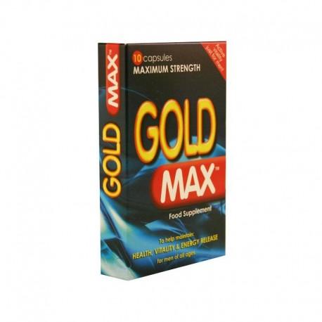 Gold Max 450mg - La pilule bleue X 10
