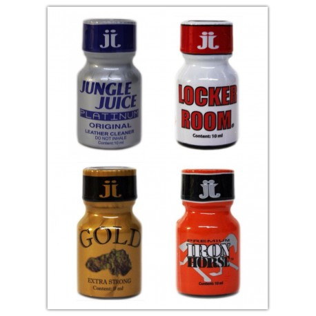 Pack Jungle juice Quatro