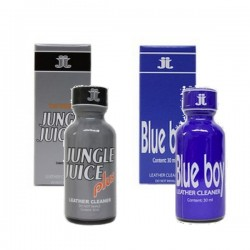 Lot 2 poppers  PLUS + BLUE BOY 30 ml