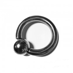 """ZE BOWL"" COCKRING ACIER BOULE MAGNETIQUE"
